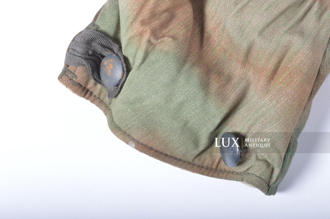 German « Fluffy » pattern camouflage reversible parka - photo 19