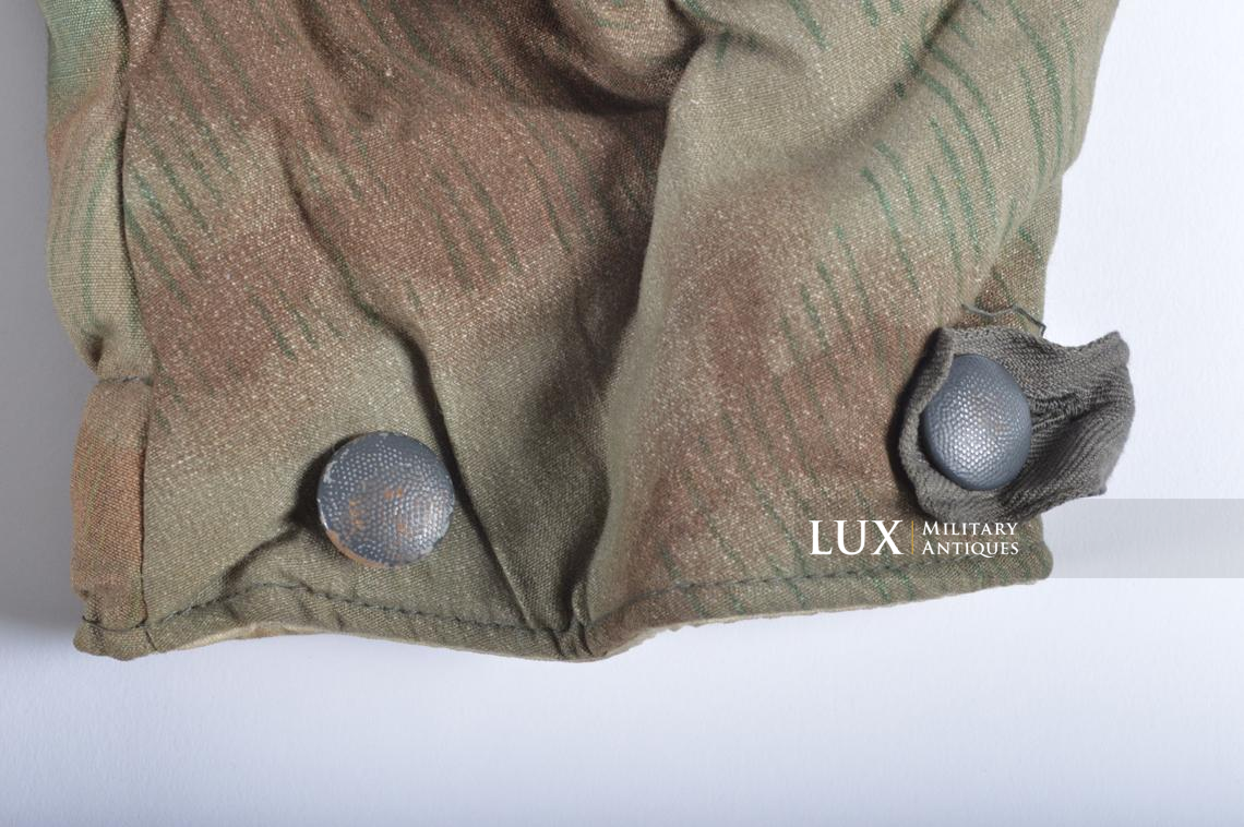 German « Fluffy » pattern camouflage reversible parka - photo 20