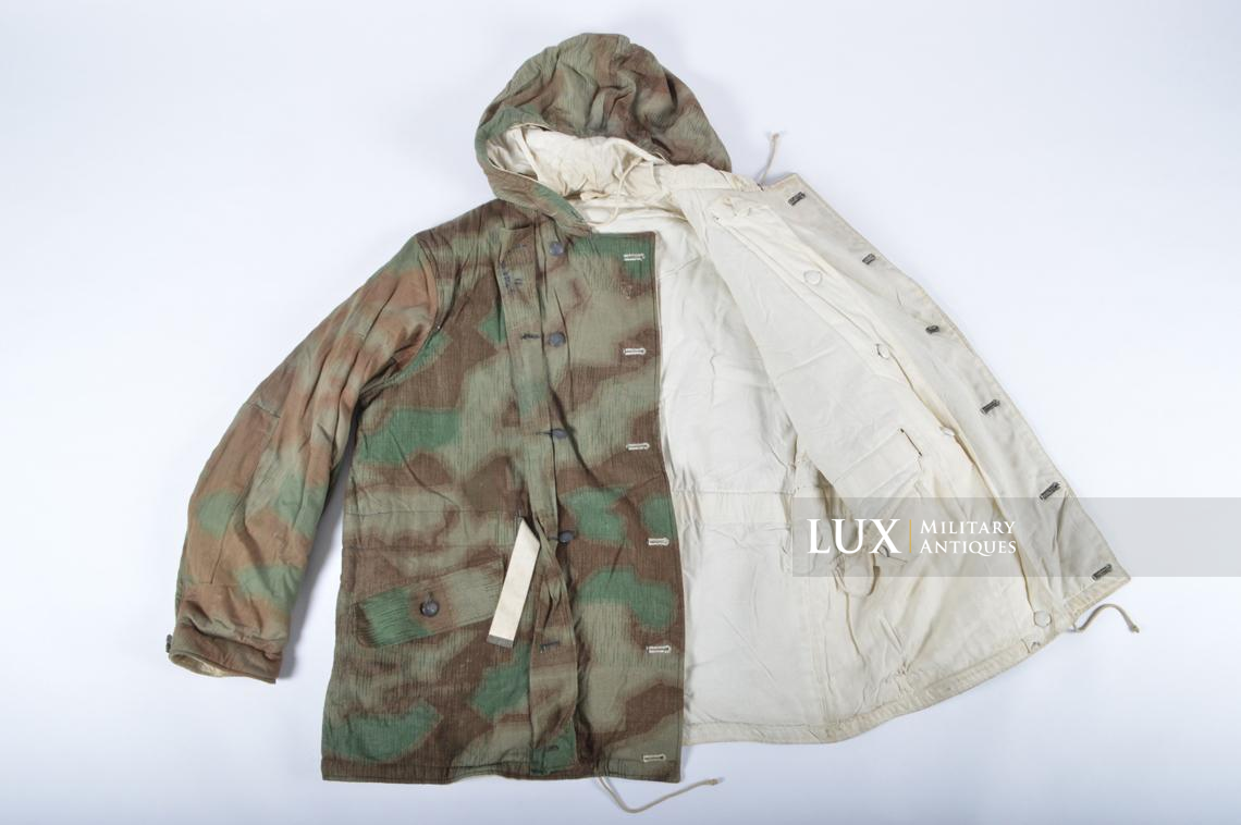 German « Fluffy » pattern camouflage reversible parka - photo 25