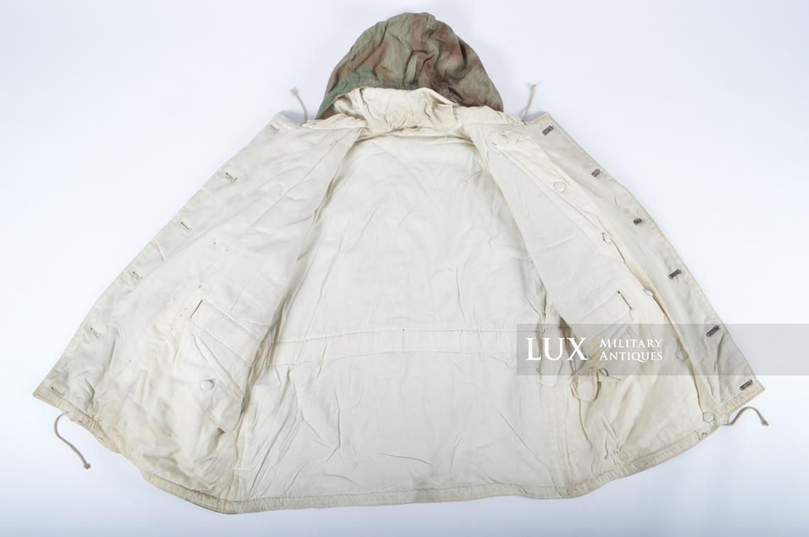 German « Fluffy » pattern camouflage reversible parka - photo 27