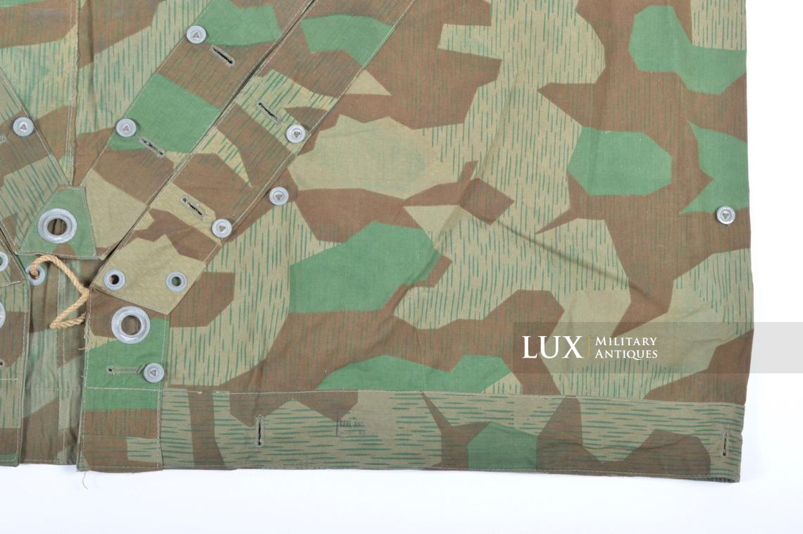 Unissued German Heer/Luftwaffe splinter camouflage shelter quarter/poncho - photo 21