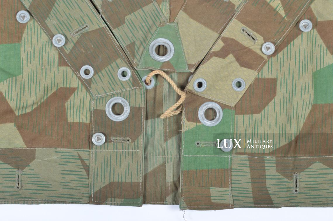 Unissued German Heer/Luftwaffe splinter camouflage shelter quarter/poncho - photo 24