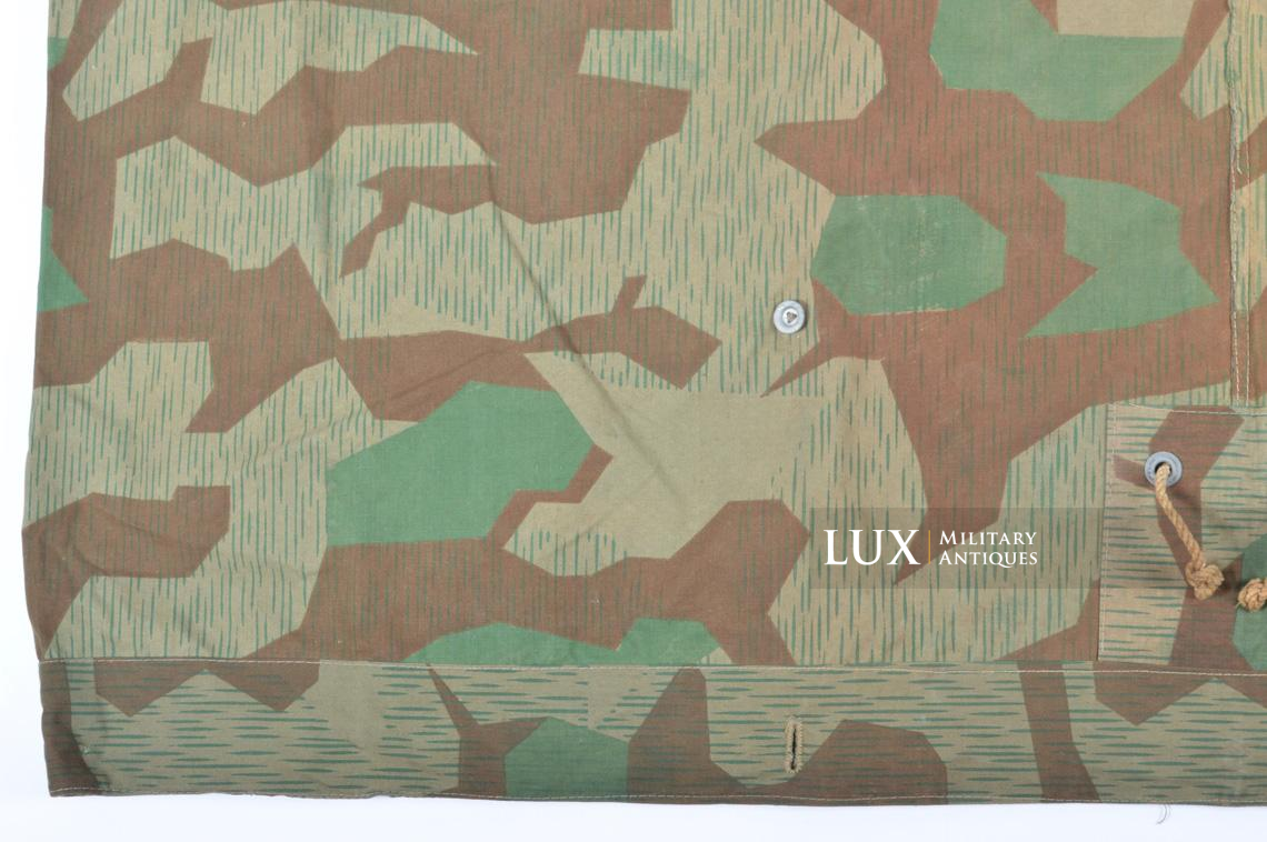 Unissued German Heer/Luftwaffe splinter camouflage shelter quarter/poncho - photo 27