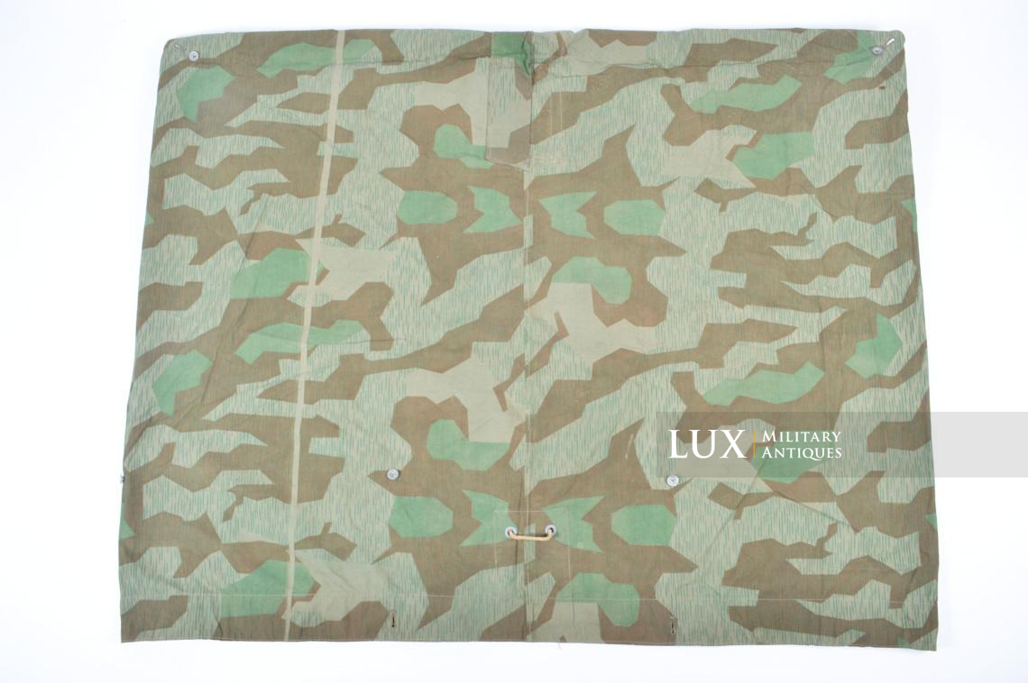 Unissued German Heer/Luftwaffe splinter camouflage shelter quarter/poncho - photo 13