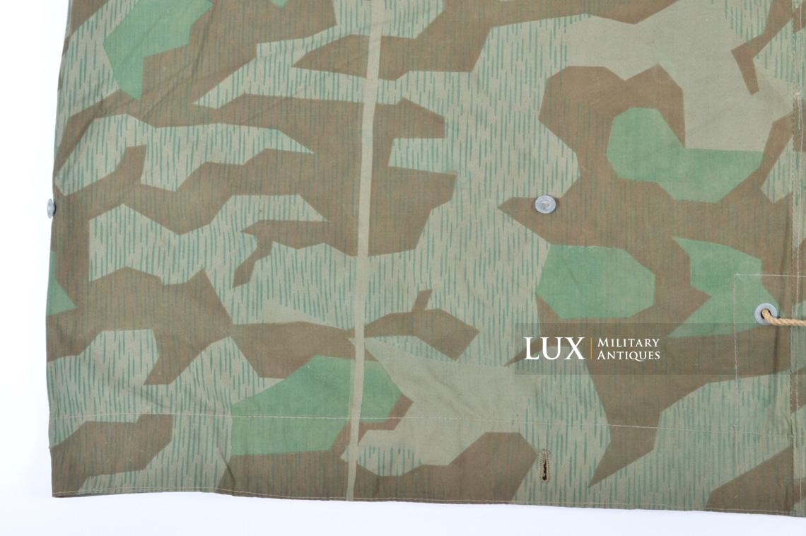 Unissued German Heer/Luftwaffe splinter camouflage shelter quarter/poncho - photo 14