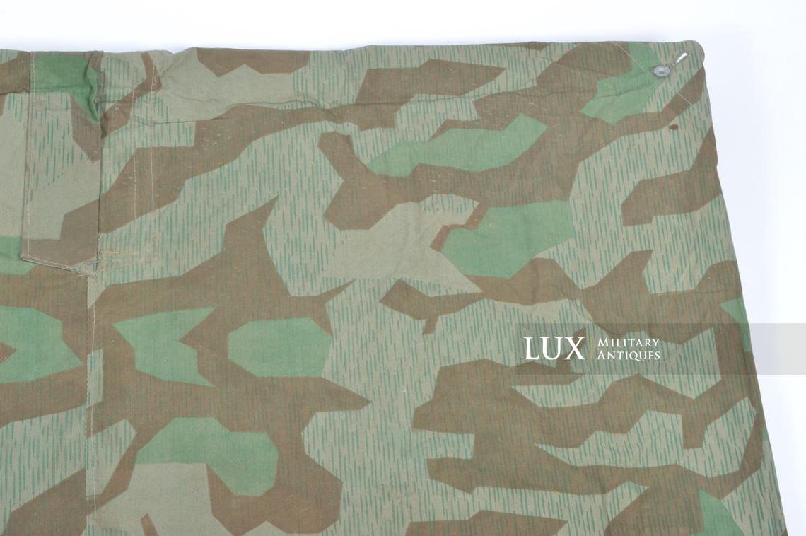 Unissued German Heer/Luftwaffe splinter camouflage shelter quarter/poncho - photo 16