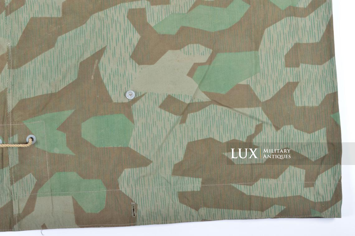 Unissued German Heer/Luftwaffe splinter camouflage shelter quarter/poncho - photo 17