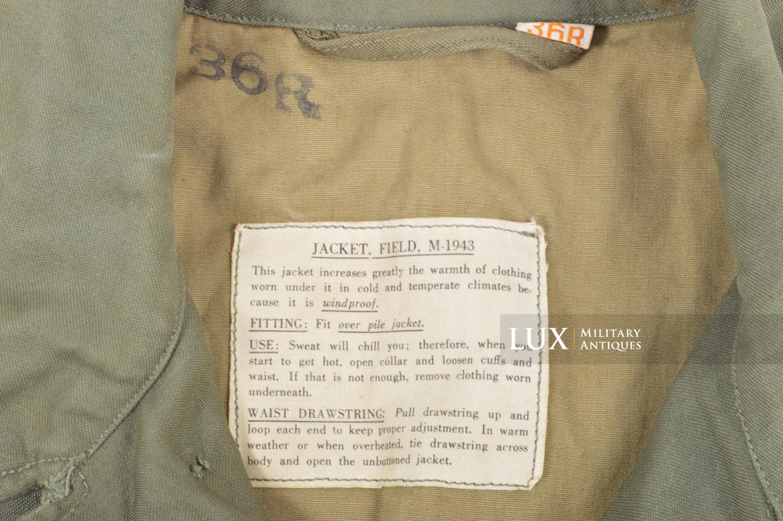 US M43 Field Jacket, 1st pattern - photo 13
