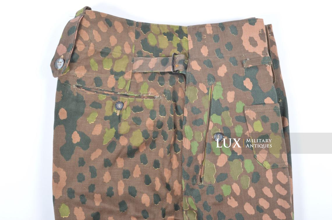 Unissued Waffen-SS M44 dot pattern camouflage trousers, « smooth cotton » - photo 10