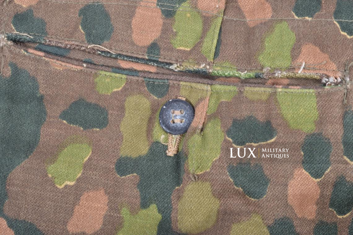 Unissued Waffen-SS M44 dot pattern camouflage trousers, « smooth cotton » - photo 13