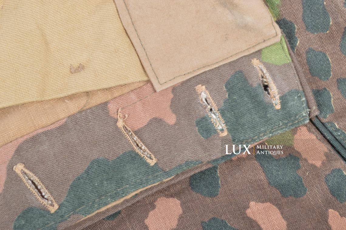 Unissued Waffen-SS M44 dot pattern camouflage trousers, « smooth cotton » - photo 17