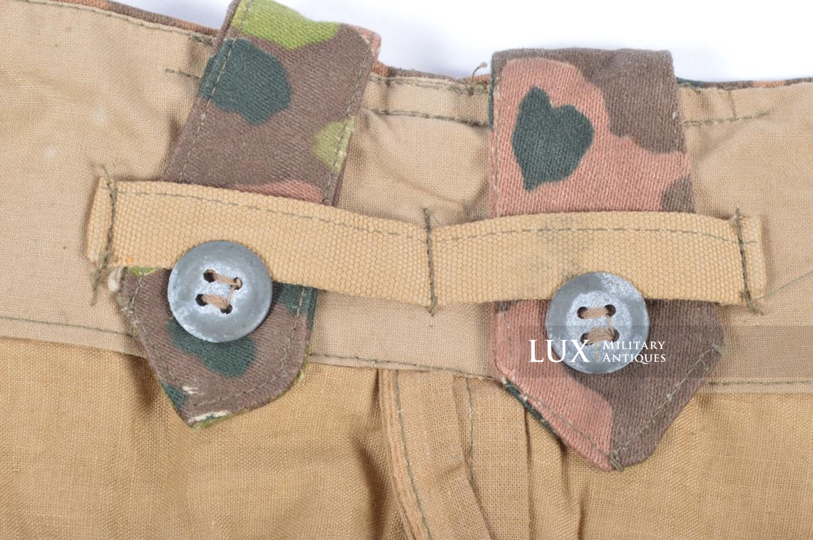 Unissued Waffen-SS M44 dot pattern camouflage trousers, « smooth cotton » - photo 20