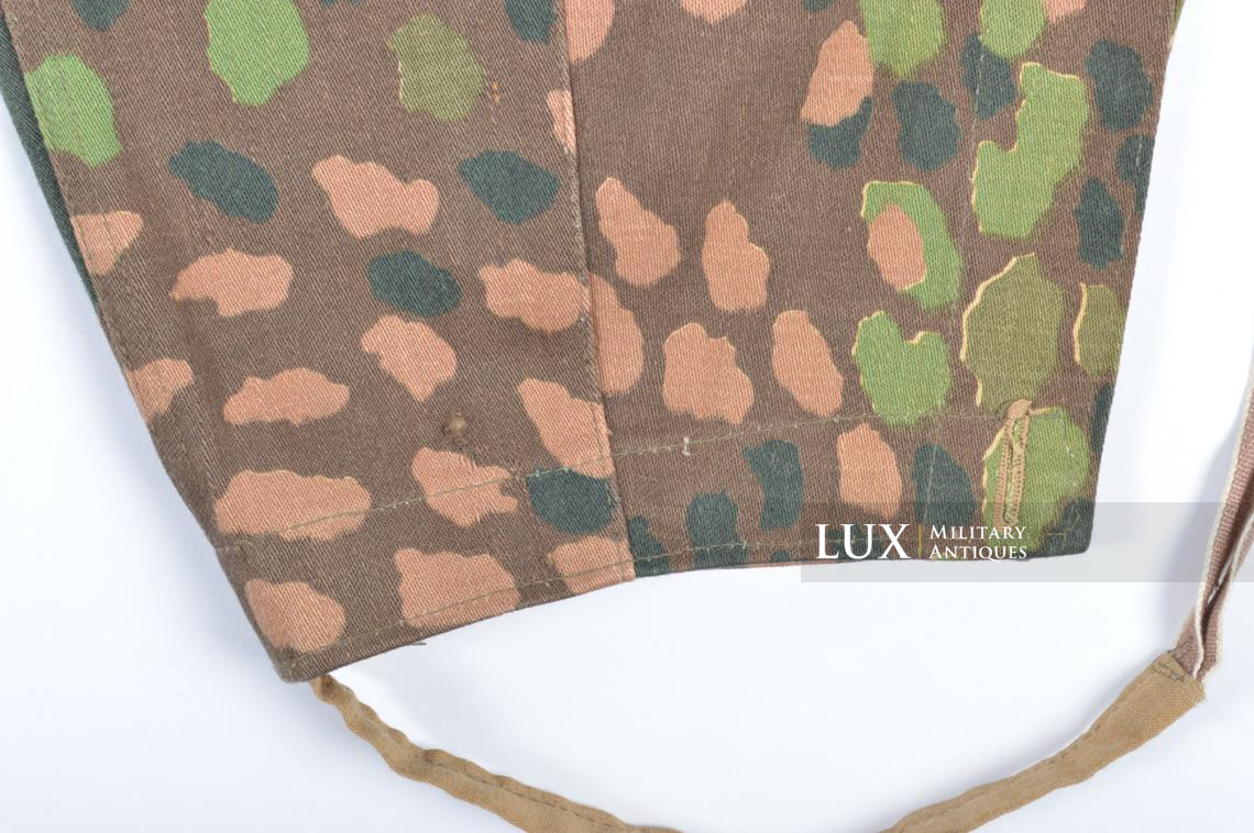 Unissued Waffen-SS M44 dot pattern camouflage trousers, « smooth cotton » - photo 23