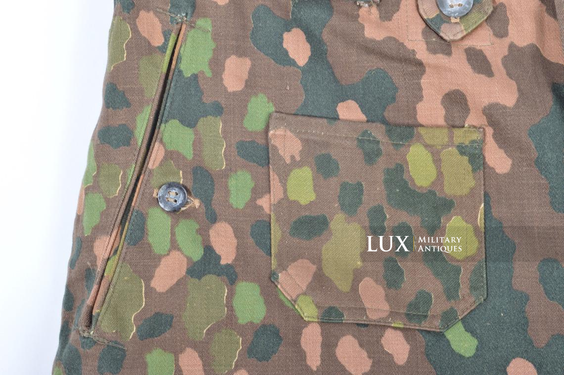 Unissued Waffen-SS M44 dot pattern camouflage trousers, « smooth cotton » - photo 25