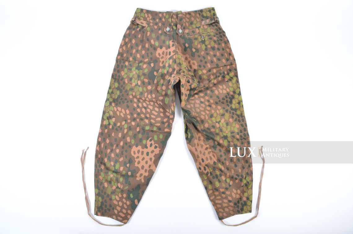 Unissued Waffen-SS M44 dot pattern camouflage trousers, « smooth cotton » - photo 26