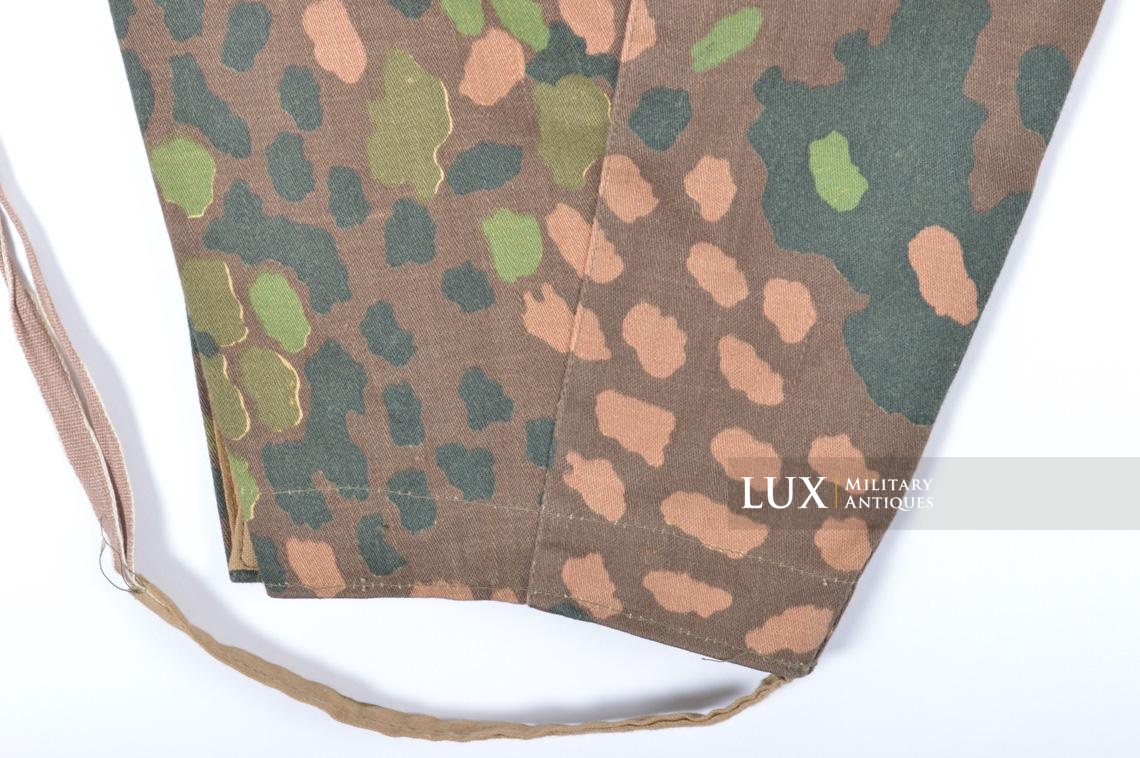 Unissued Waffen-SS M44 dot pattern camouflage trousers, « smooth cotton » - photo 27
