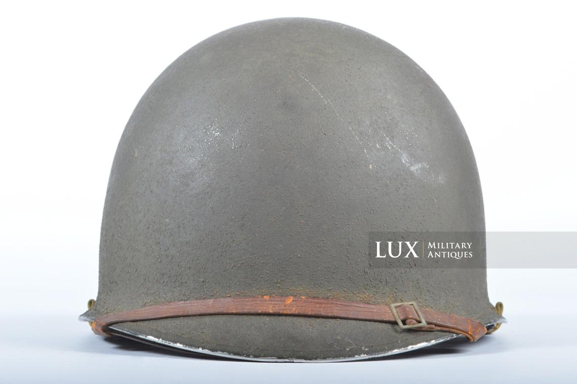 USM1 front seam fixed bale combat helmet, « Saint-clair » - photo 8