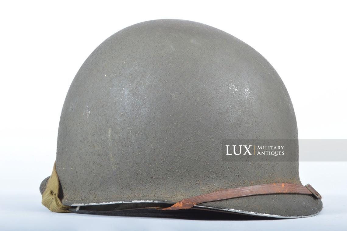 USM1 front seam fixed bale combat helmet, « Saint-clair » - photo 9