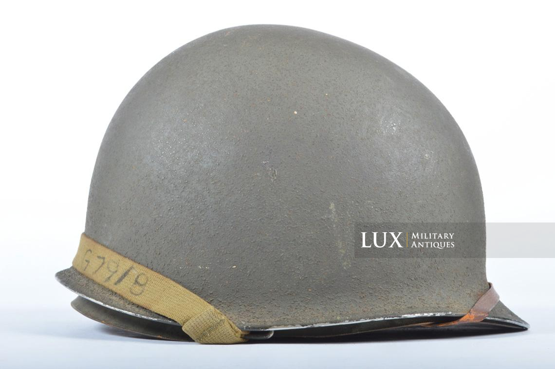 USM1 front seam fixed bale combat helmet, « Saint-clair » - photo 10