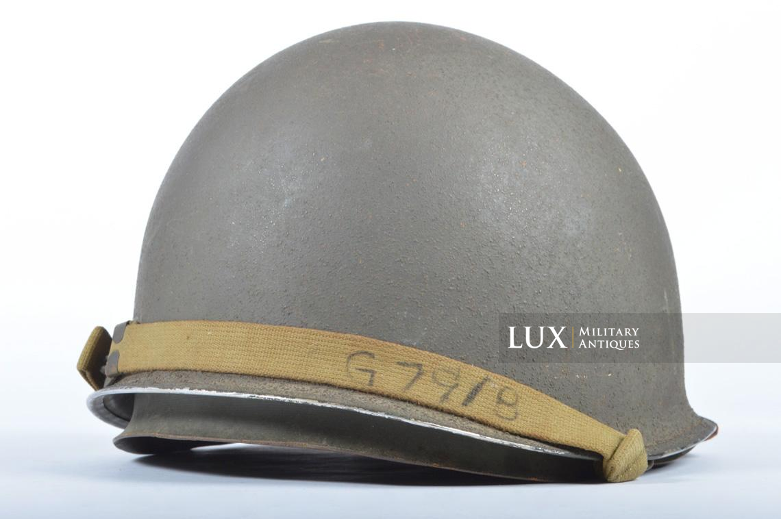 USM1 front seam fixed bale combat helmet, « Saint-clair » - photo 11