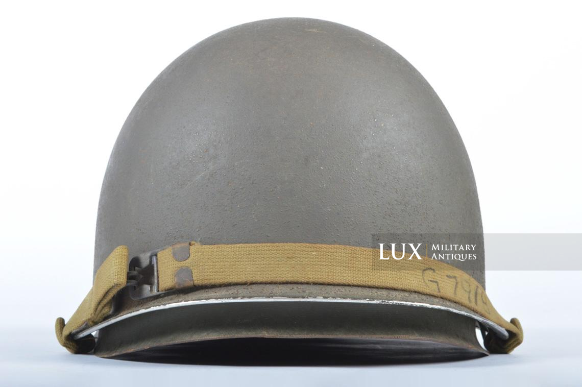 USM1 front seam fixed bale combat helmet, « Saint-clair » - photo 12