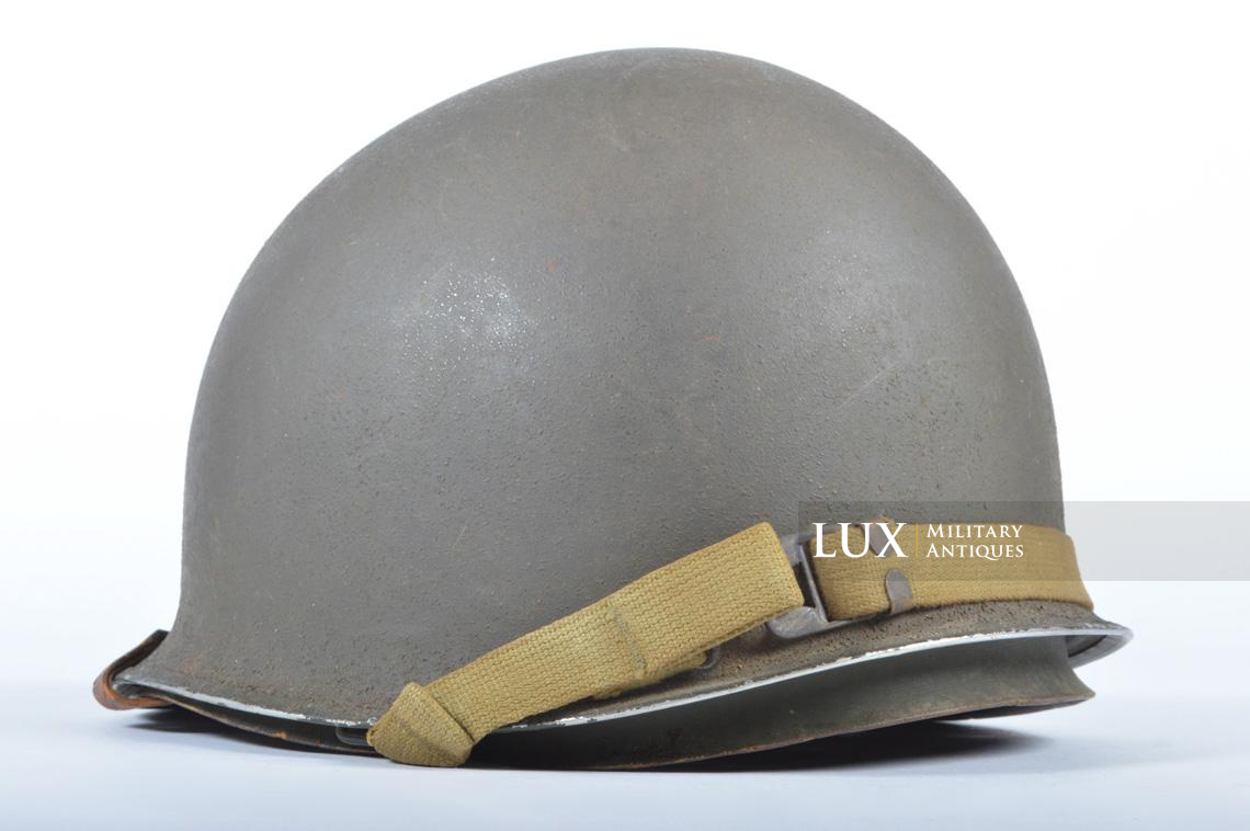 USM1 front seam fixed bale combat helmet, « Saint-clair » - photo 13