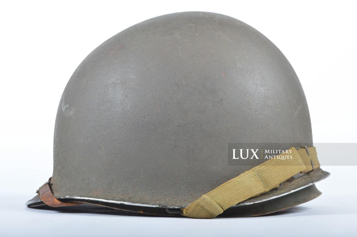 USM1 front seam fixed bale combat helmet, « Saint-clair » - photo 14