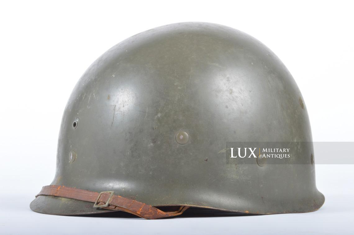 USM1 front seam fixed bale combat helmet, « Saint-clair » - photo 29