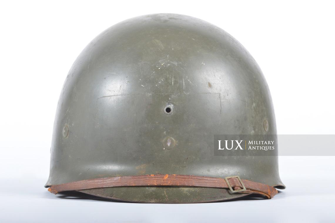 USM1 front seam fixed bale combat helmet, « Saint-clair » - photo 30