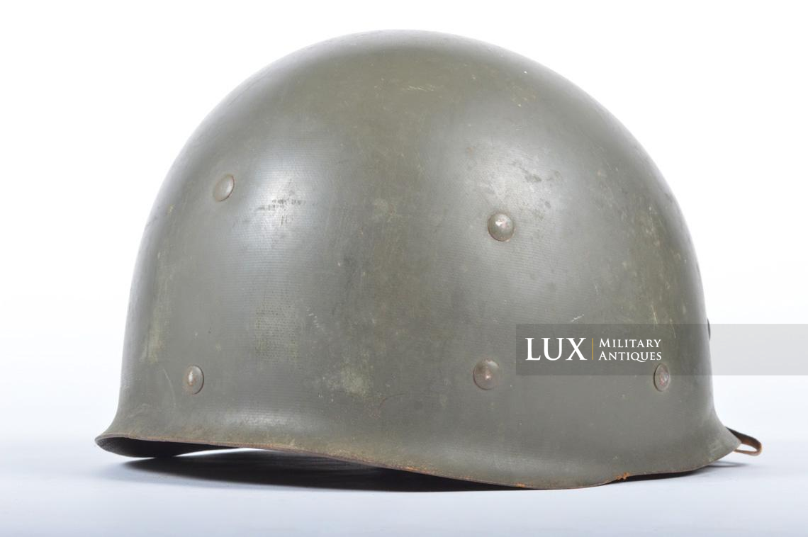 USM1 front seam fixed bale combat helmet, « Saint-clair » - photo 33