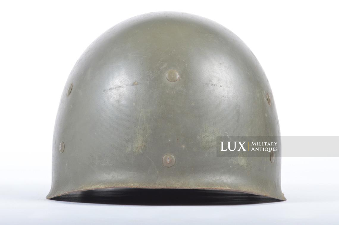 USM1 front seam fixed bale combat helmet, « Saint-clair » - photo 34
