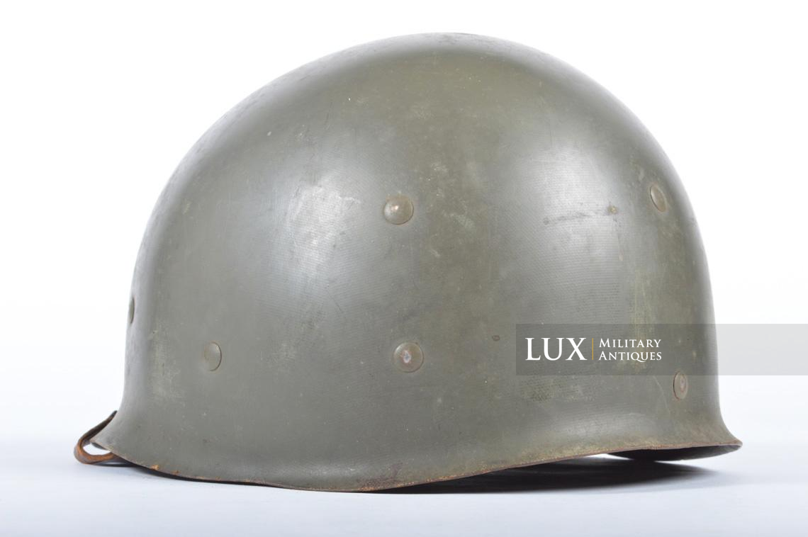 USM1 front seam fixed bale combat helmet, « Saint-clair » - photo 35