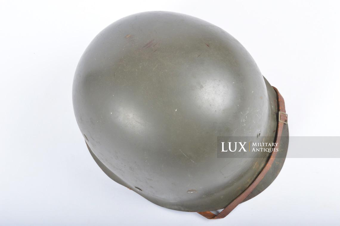 USM1 front seam fixed bale combat helmet, « Saint-clair » - photo 37