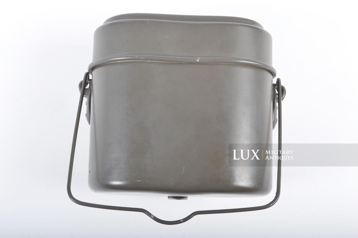 Unissued German aluminum mess kit, « L&SL40 » - photo 9