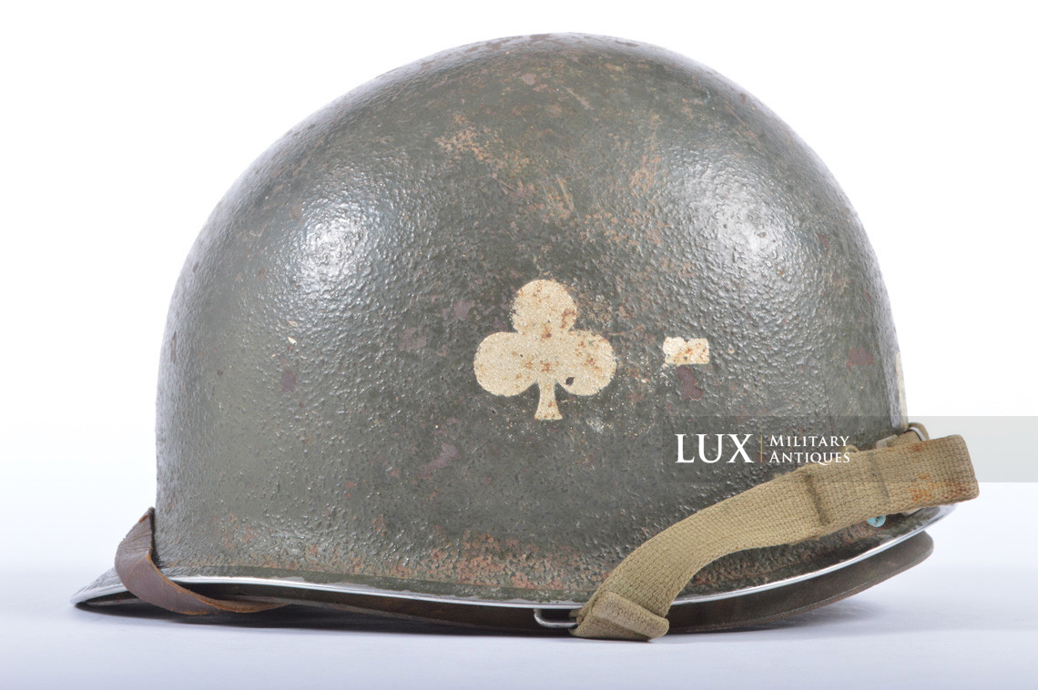 USM1 helmet, 101st AB, 327th Glider Infantry Regiment, 1st Bn. - photo 4