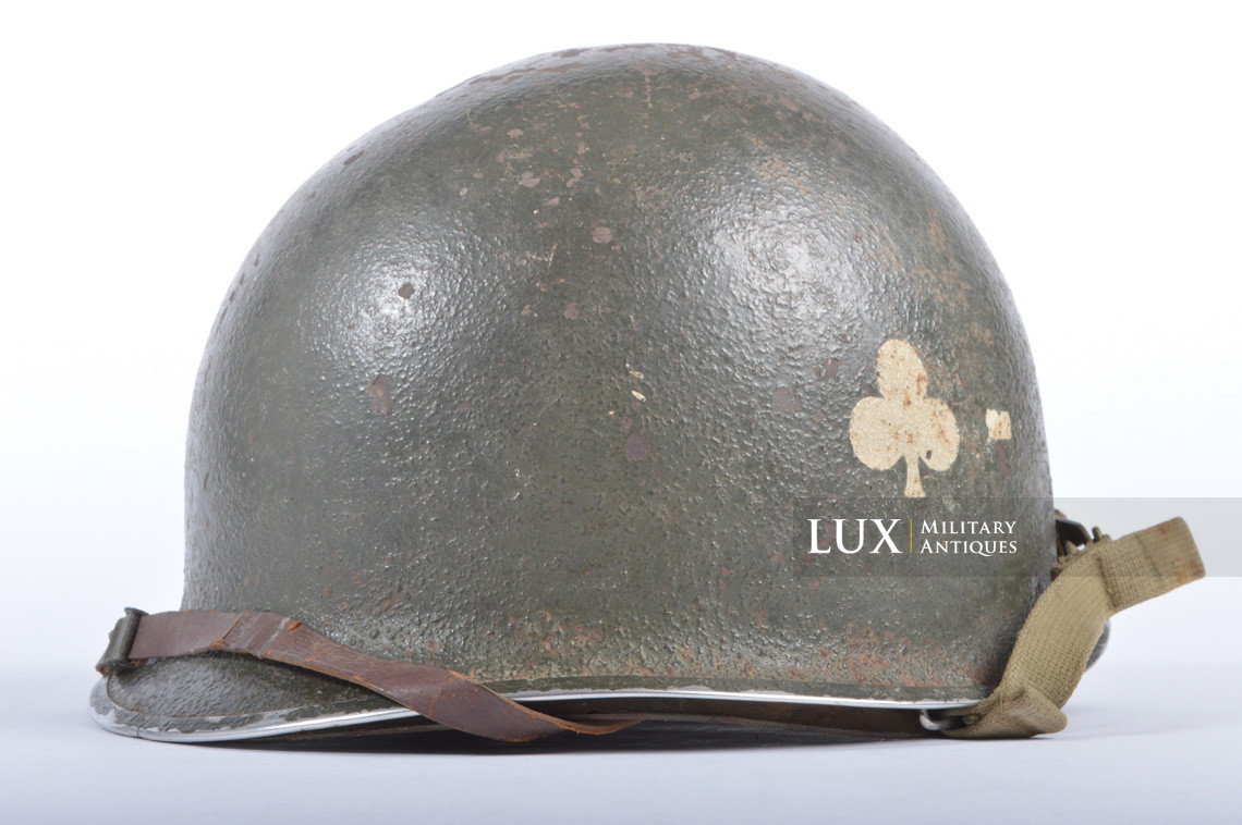 USM1 helmet, 101st AB, 327th Glider Infantry Regiment, 1st Bn. - photo 7