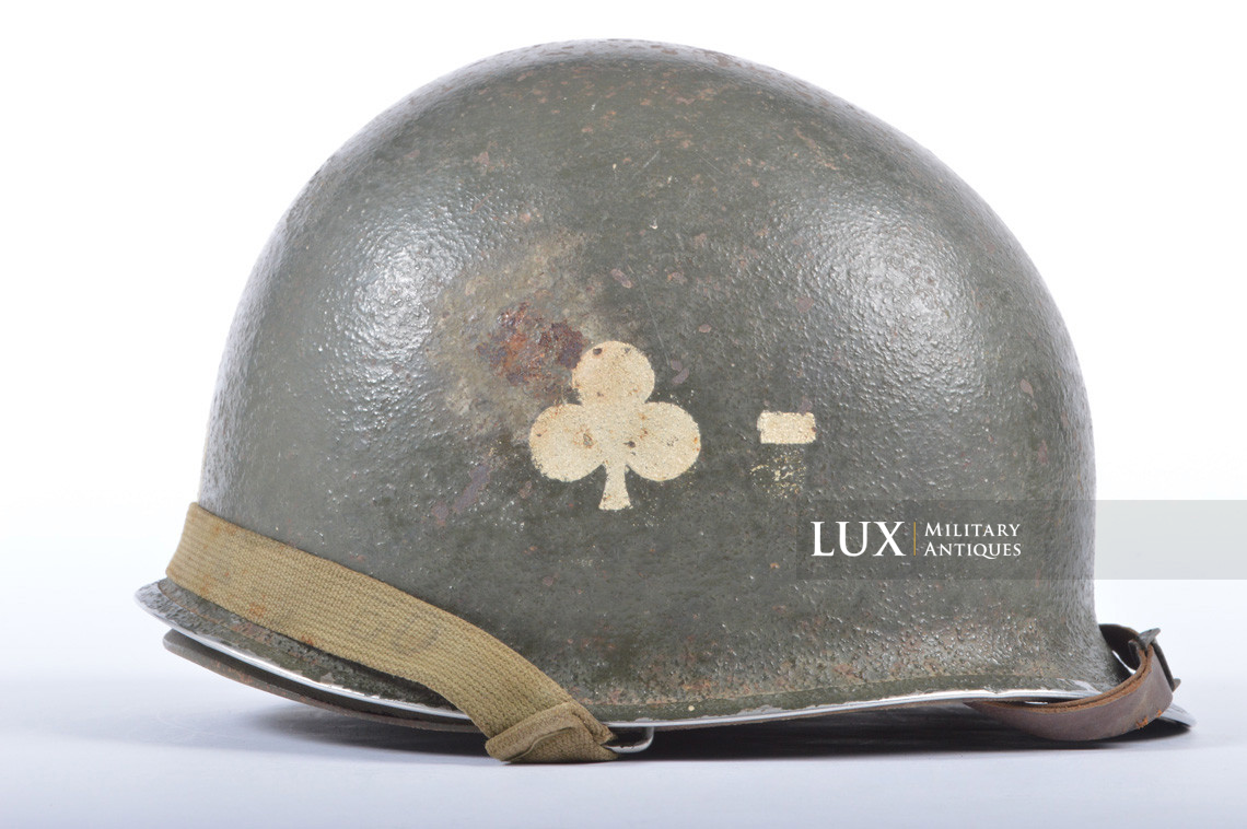 USM1 helmet, 101st AB, 327th Glider Infantry Regiment, 1st Bn. - photo 10