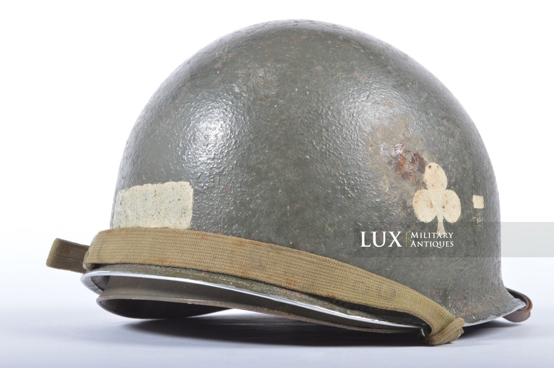 USM1 helmet, 101st AB, 327th Glider Infantry Regiment, 1st Bn. - photo 11
