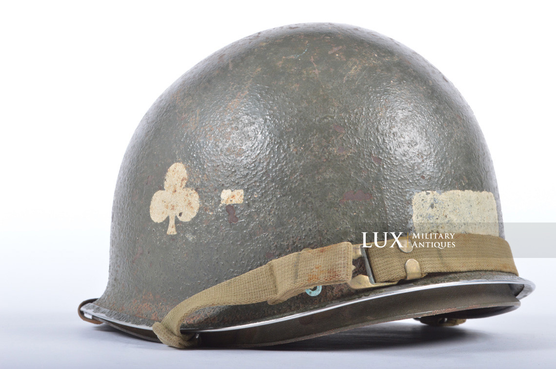 USM1 helmet, 101st AB, 327th Glider Infantry Regiment, 1st Bn. - photo 14