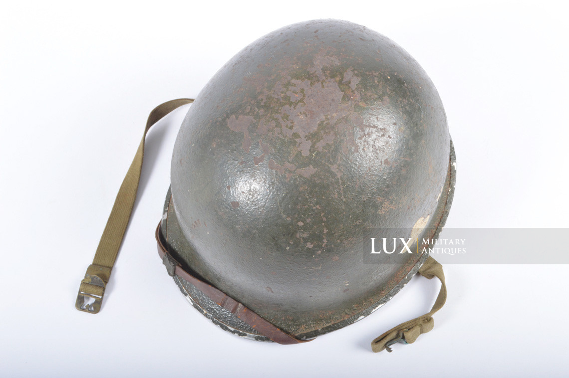 USM1 helmet, 101st AB, 327th Glider Infantry Regiment, 1st Bn. - photo 15