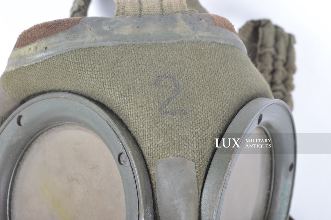German gas mask canister in tan camouflage, « DAK » - photo 54