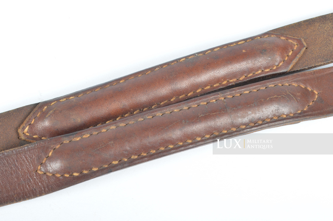 German MG34/42 leather sling - photo 9