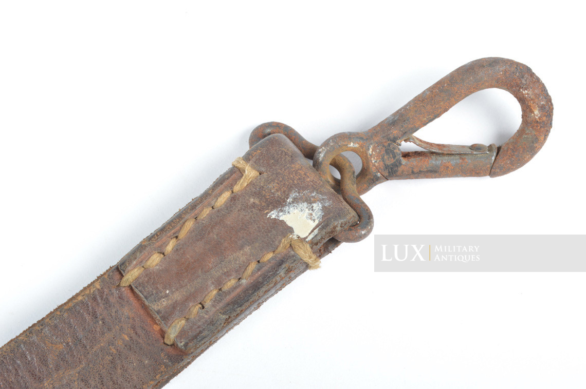 German MG34 leather sling - photo 9