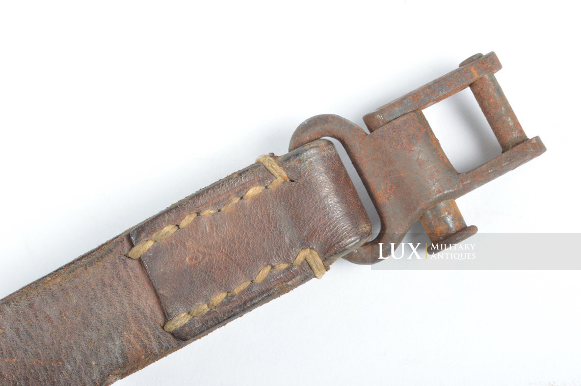 German MG34 leather sling - photo 10