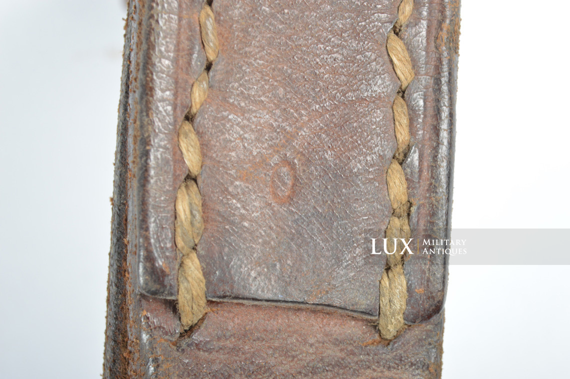 German MG34 leather sling - photo 11