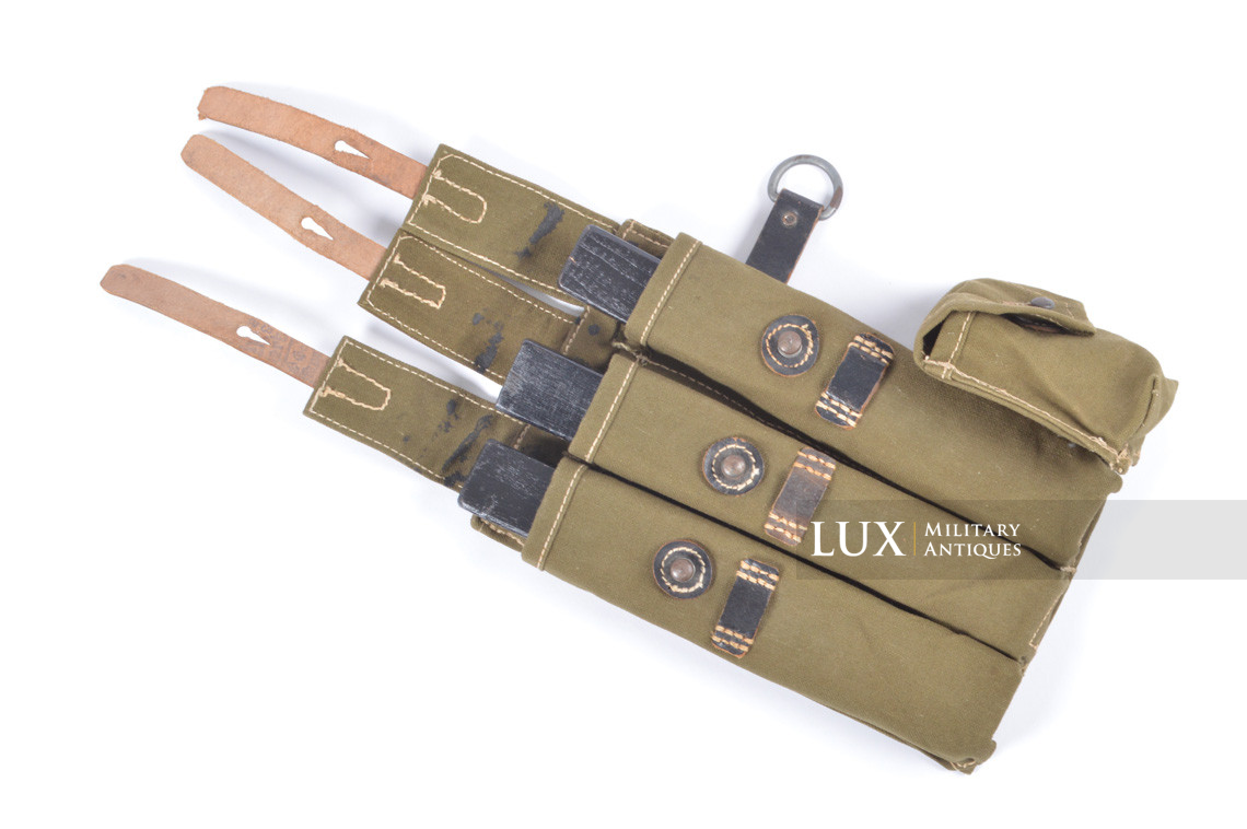 Unissued late-war MP38/40 green pouch, « clg43 » - photo 17