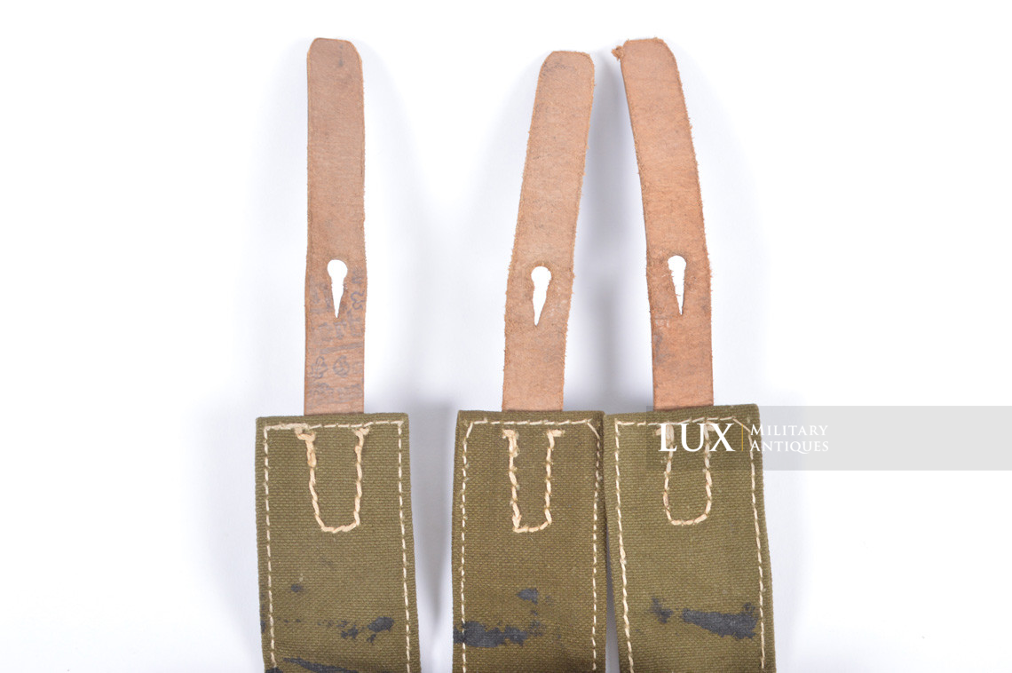 Unissued late-war MP38/40 green pouch, « clg43 » - photo 18