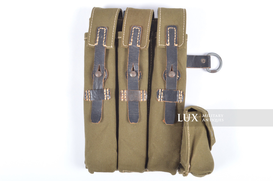Unissued late-war MP38/40 green pouch, « clg43 » - photo 4