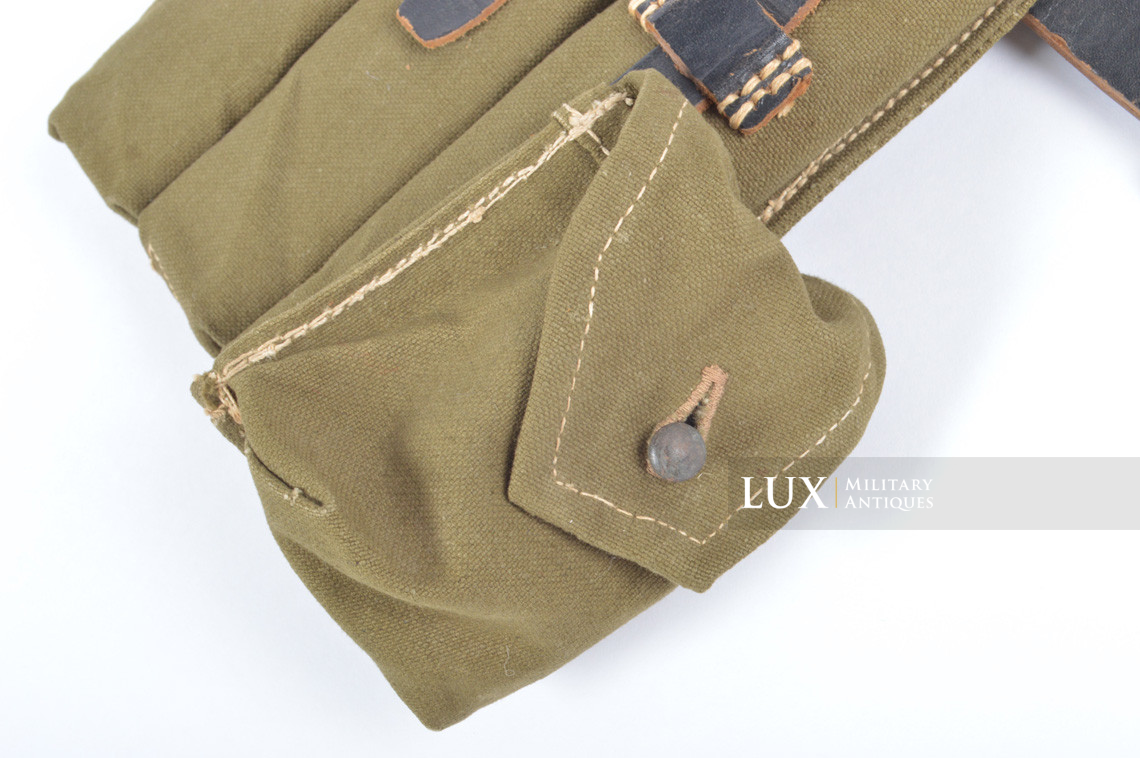 Unissued late-war MP38/40 green pouch, « clg43 » - photo 11