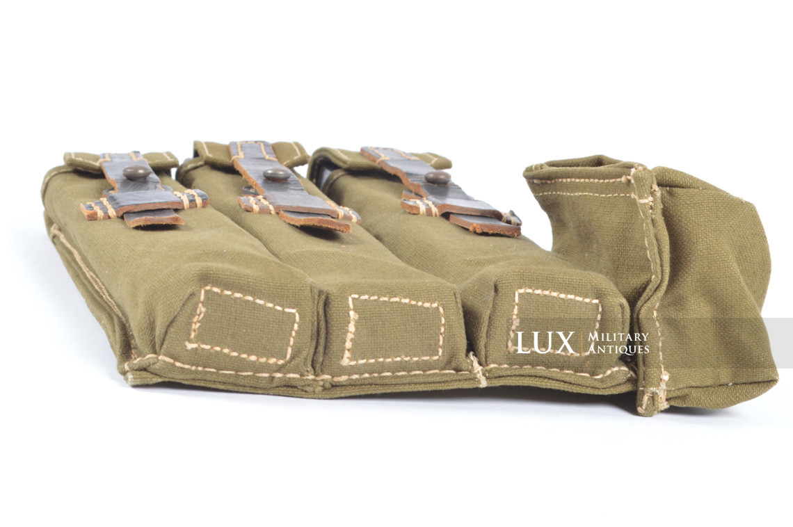 Unissued late-war MP38/40 green pouch, « clg43 » - photo 16